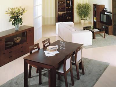 Pon linda tu casa comedores para dpto peque os for Comedores pequenos de madera