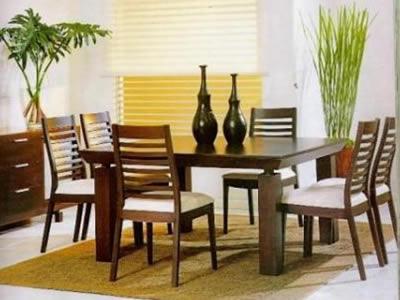 Como seleccionar el juego de comedor - Centros de mesa para salon comedor ...