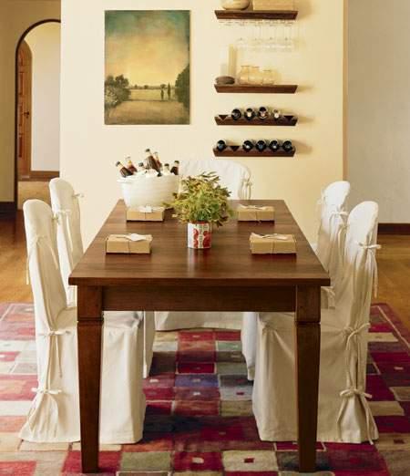Aprovechar los espacios del comedor - Decoracion pared comedor ...