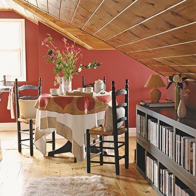 Aprovechar los espacios del comedor - Lamparas para buhardillas ...
