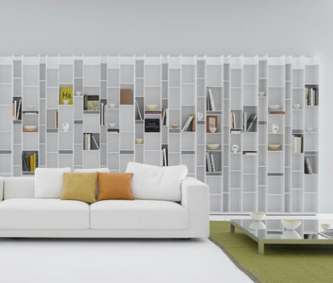 Livros da vida bibliotecas modernas - Decoracion de librerias ...