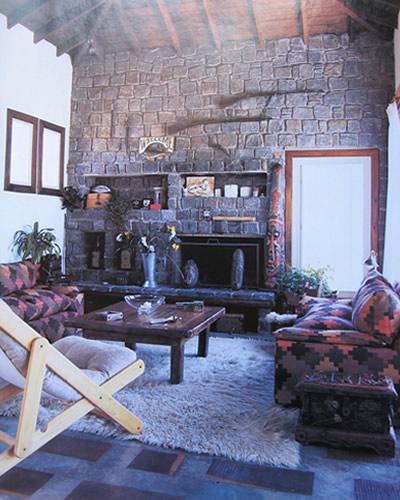 Estilo mexicano decoracion de casas for Decoracion rustica para living