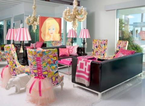 La casa de barbie estilos - Juegos de decorar la casa de barbie con piscina ...