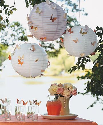 Decora tu fiesta al aire libre con mariposas Artículo Publicado el 03