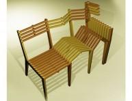 imagen Una silla extensible de madera