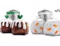 imagen Bolsas de basura decoradas