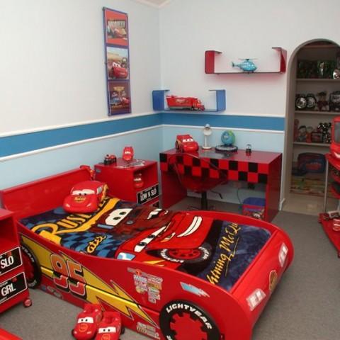 Decoraci n de cuartos para ni os de cars imagui - Cuartos infantiles nino ...