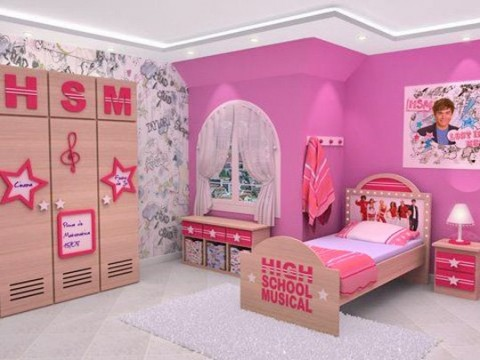 Inigualables muebles para ni os interiores - Habitaciones infantiles ninos 4 anos ...