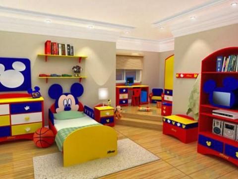 Inigualables muebles para ni os interiores - Habitaciones para nino ...