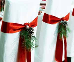 Decora tus sillas para navidad fiestas - Adornos navidenos para sillas ...