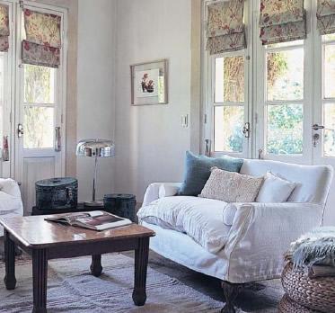 Decorar con cortinas - cocina comedor - 10