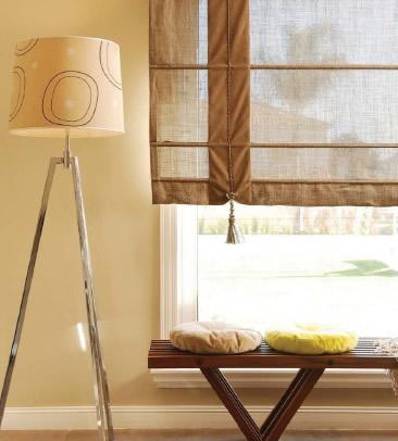 Decorar con cortinas - cocina comedor - 24