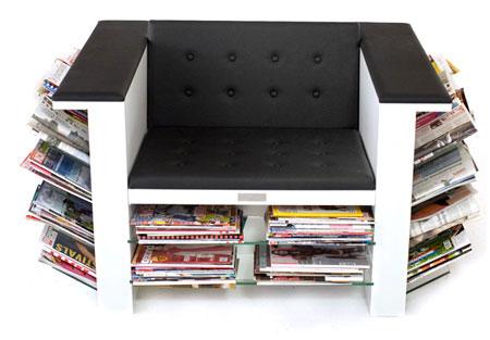 HOI, el sillón para las revistas