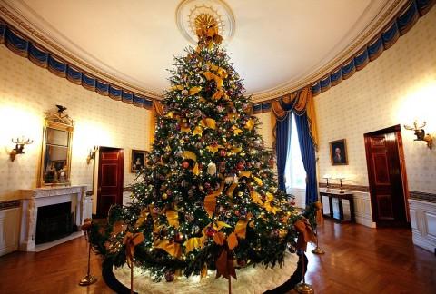 el estilo obama en la decoraci 243 n navide 241 a de la