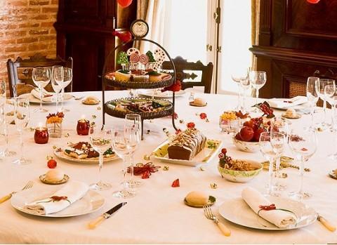 Ideas para decorar tu mesa de navidad fiestas - Ideas para decorar la mesa de navidad ...