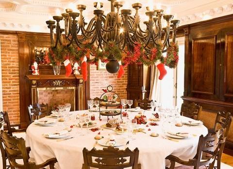 Ideas para decorar tu mesa de navidad fiestas - Adornar la mesa para navidad ...