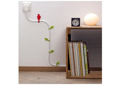 Accesorio para decorar tus cables accesorios for Articulos de decoracion para casa