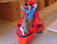 imagen El sillón Ferrari