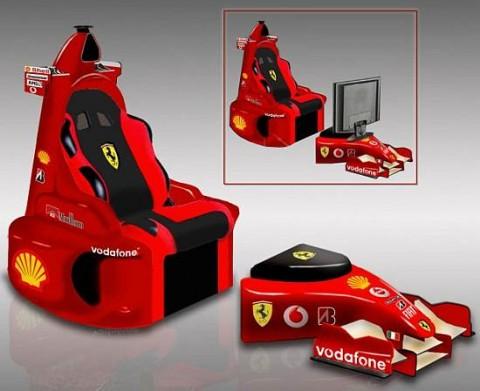El sillón Ferrari 1