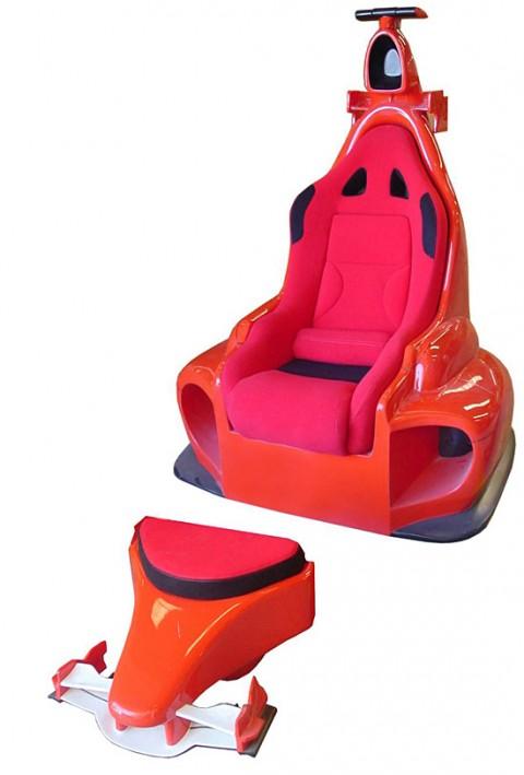 El sillón Ferrari 3