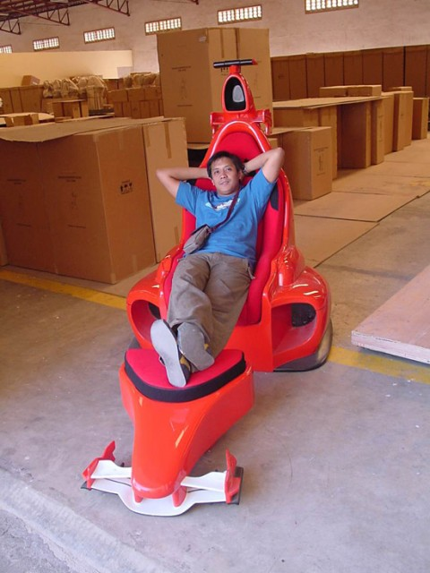 El sillón Ferrari 6