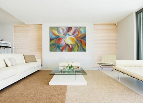 Cuadros y fotograf as como complementos decorativos consejos for Pinturas para interiores colores modernos