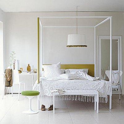 Un dormitorio económico pero con estilo