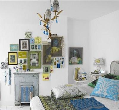 Decora con cuadros tu habitación