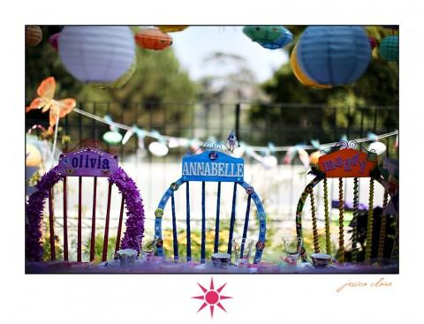 Decoración de Alice in Wonderland para los cumpleaños-02