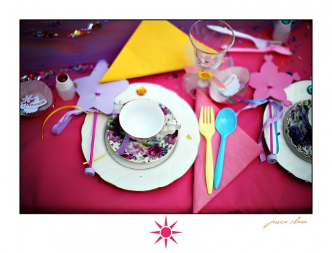 Decoración de Alice in Wonderland para los cumpleaños-03