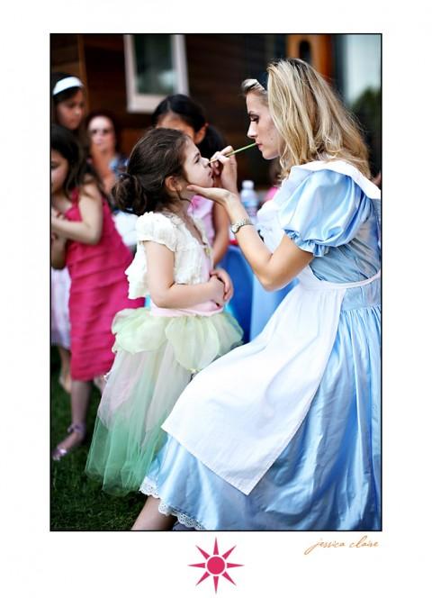 Decoración de Alice in Wonderland para los cumpleaños-09