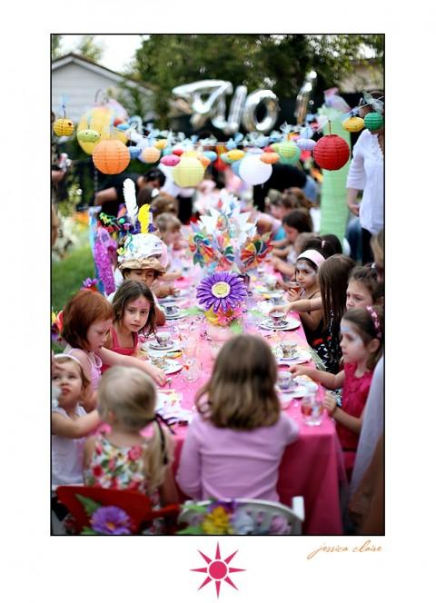 Decoración de Alice in Wonderland para los cumpleaños-10