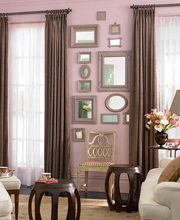 Espejos en el living interiores - Espejos pequenos para decorar ...