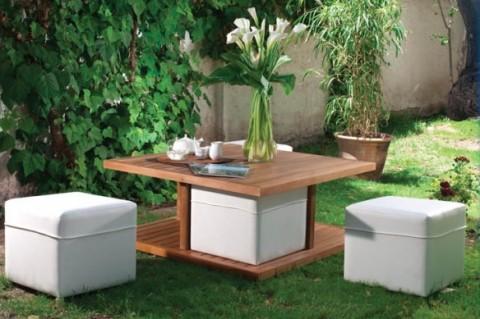Mobiliario diferente para tu jard n o terraza muebles for Muebles de jardin para terrazas pequenas