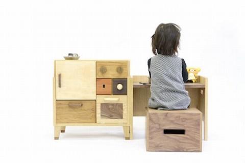 Mobiliario para niños de Masahiro Minami - Muebles