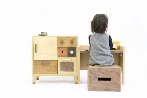 Mobiliario para niños de Masahiro Minami 1