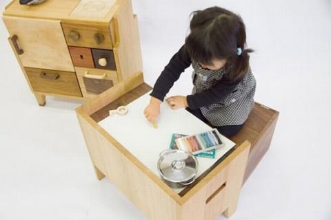 Mobiliario para ni os de masahiro minami muebles for Mobiliario para ninos