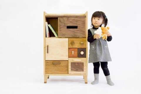 Mobiliario para niños de Masahiro Minami 3
