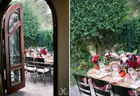 Una mesa diferente para una comida en el jardín-01