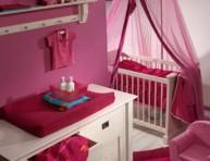 imagen Dormitorio rosa para tu beba