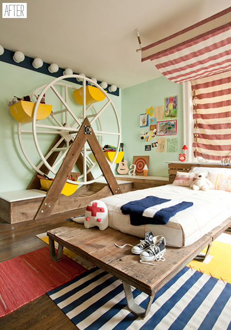 habitacion de niños en un Circo2