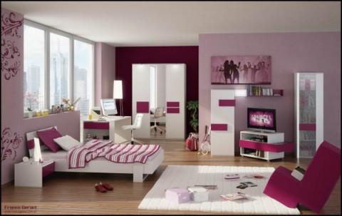 Ideas para el habitaciones de jovencitas-05