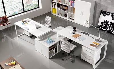 El despacho u oficina en casa consejos for Fotos despachos en casa