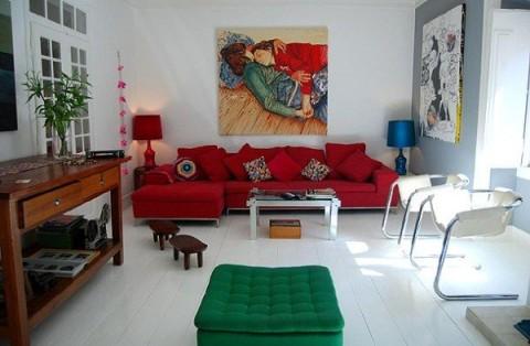 Un departamento para disfrutar interiores for Departamentos decorados estilo moderno
