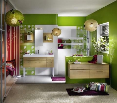 El color verde 10 razones para usarlo en casa for Combinaciones de color verde para interiores