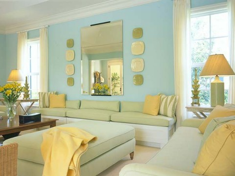 El color verde 10 razones para usarlo en casa for Tiffany d living room