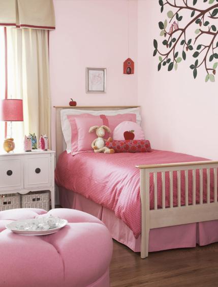 Preciosa habitaci n rosa para ni as - Decoracion habitacion rosa ...