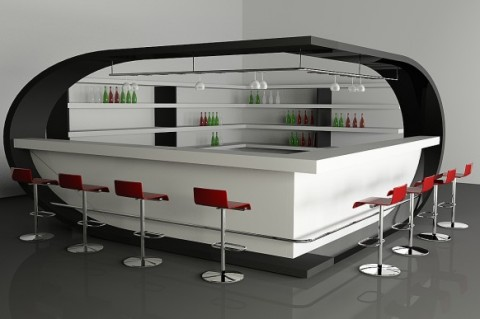 Seis ideas para un bar en casa2