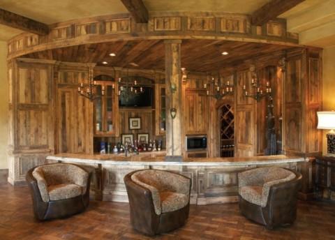 Seis ideas para un bar en casa5