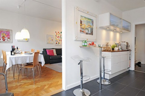 Un piso con encanto propio for Pisos pequenos con encanto